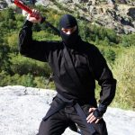 How to Wear a Ninja Uniform & Ninja Costume