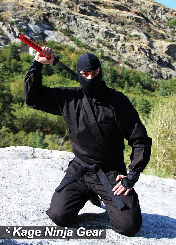 Real Ninja Uniform High Quality 14oz Free 2 Day Shipping