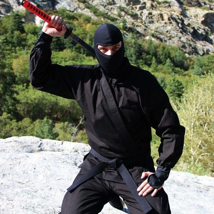 how to become a real ninja in real life