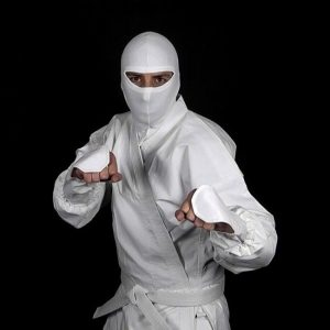 White Ninja Uniform X on Tiger Gear Chart